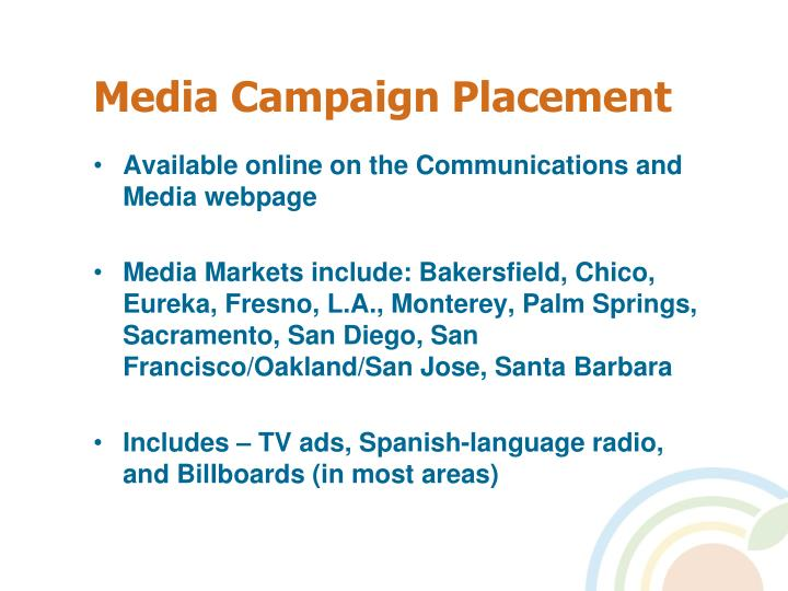 Media Campaign Placement