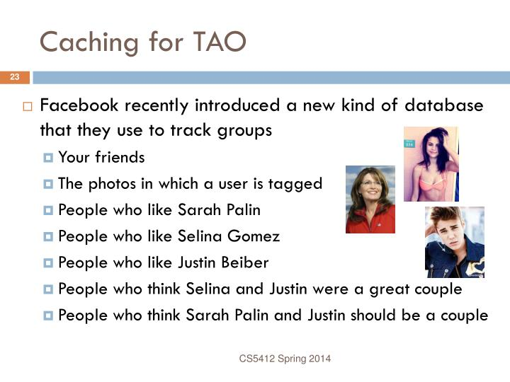 Caching for TAO