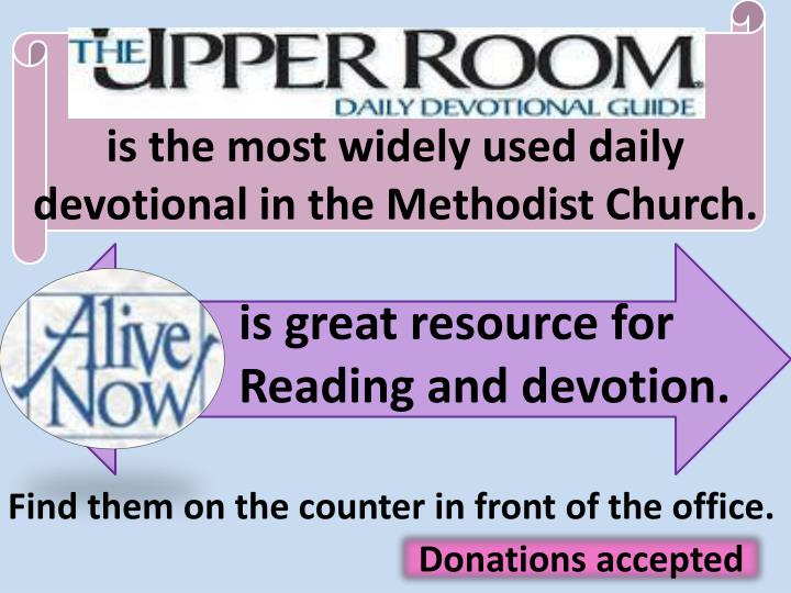 is the most widely used daily devotional in the Methodist Church.