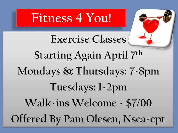 Fitness 4 You!