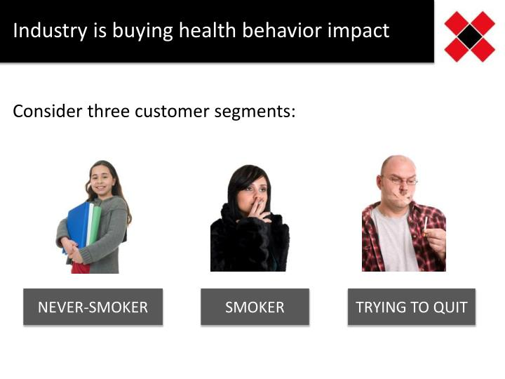 Industry is buying health behavior impact