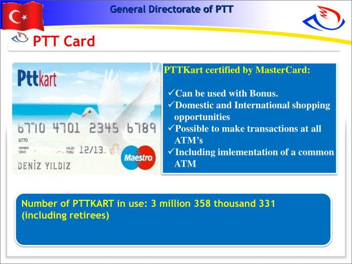 PTT Card