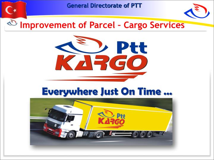 Improvement of Parcel – Cargo Services