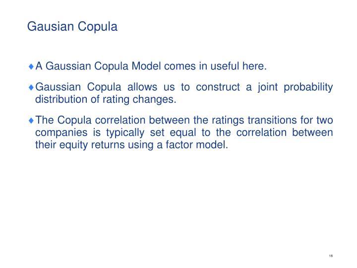 Gausian Copula