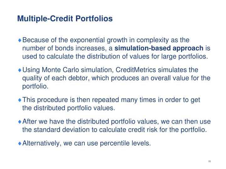 Multiple-Credit Portfolios