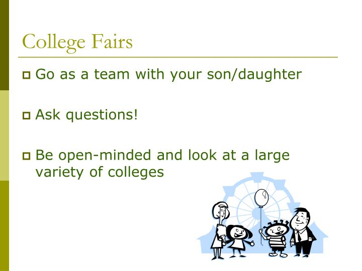 College Fairs