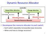 dynamic resource allocator2