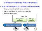 software defined measurement1