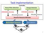 task implementation