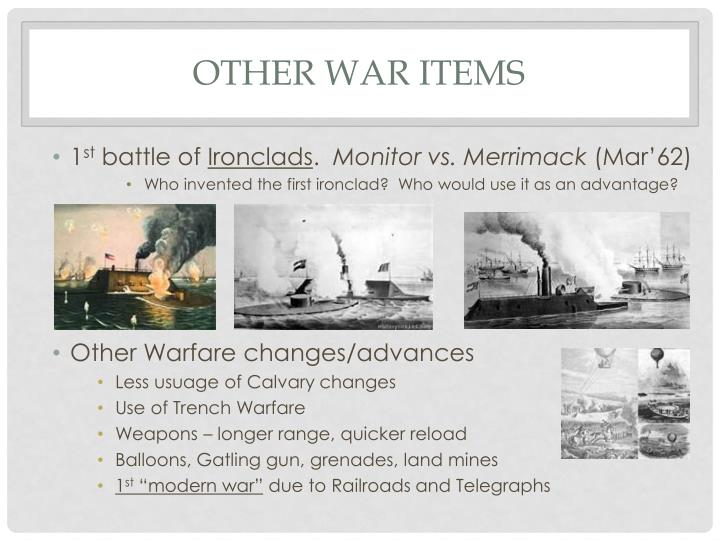 Other War Items