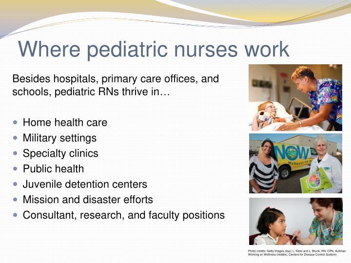 Where pediatric
