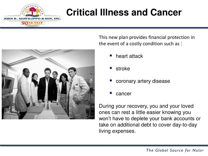 Critical Illness and Cancer