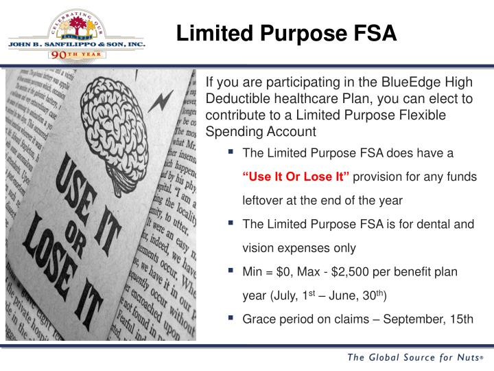 Limited Purpose FSA