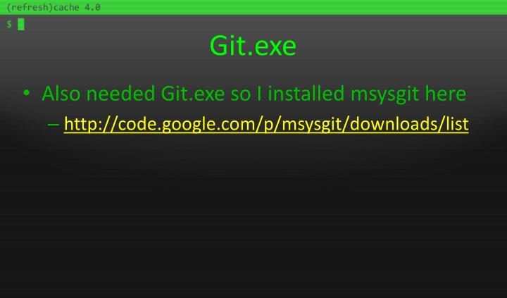 Git.exe
