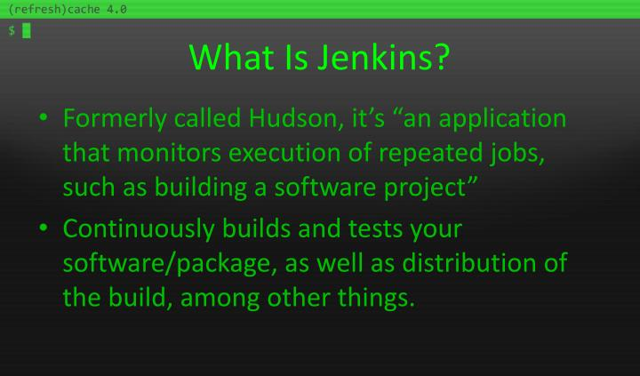 What Is Jenkins?