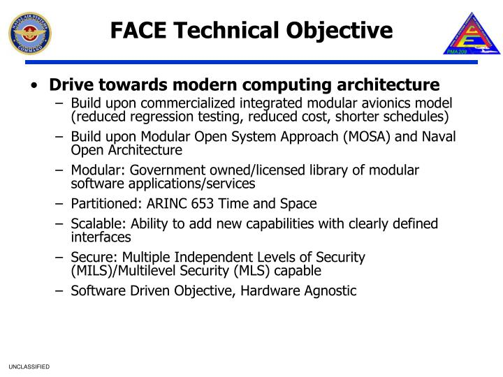 FACE Technical Objective
