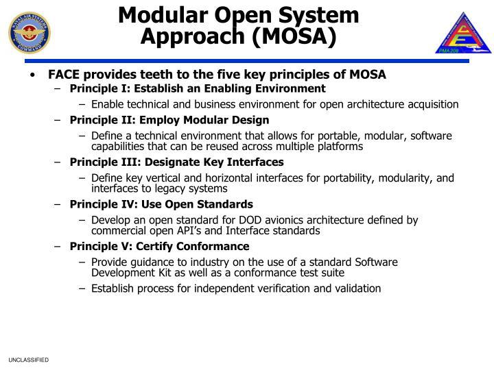 Modular Open System Approach (MOSA)