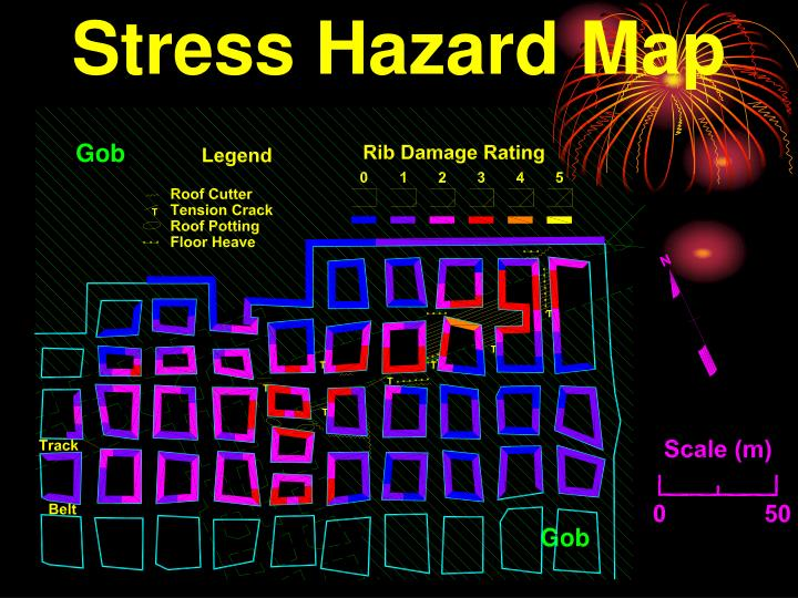 Stress Hazard Map