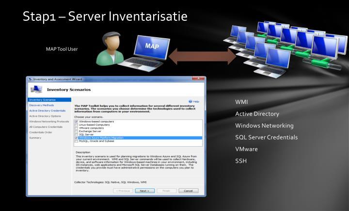 Stap1 – Server