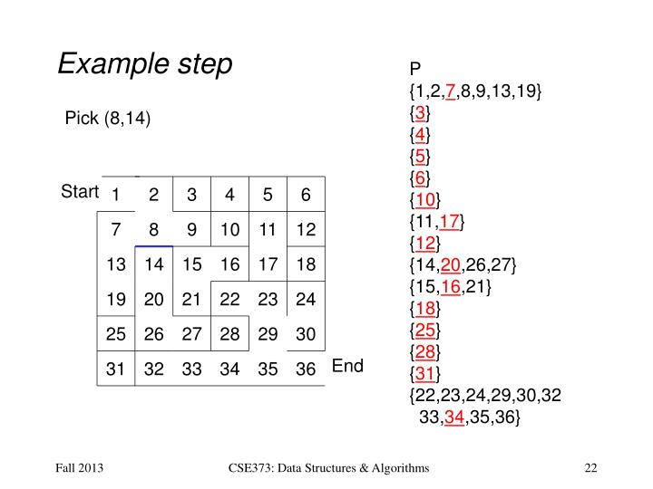 Example step