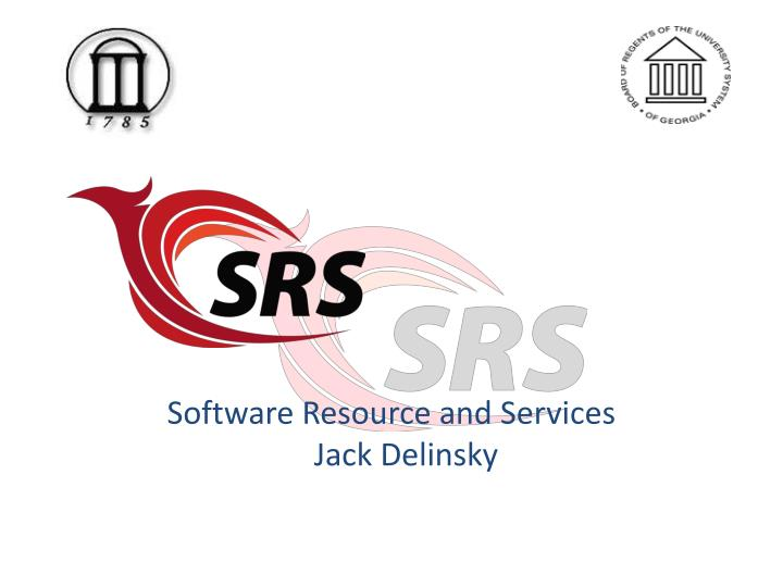 Software Resource and Services