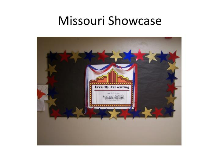 Missouri Showcase
