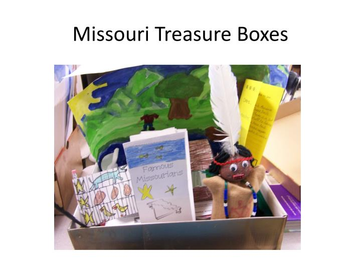Missouri Treasure Boxes