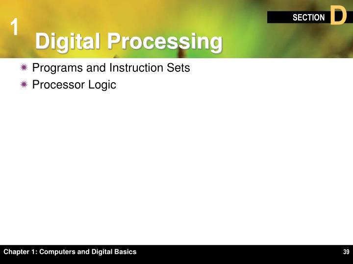 Digital Processing