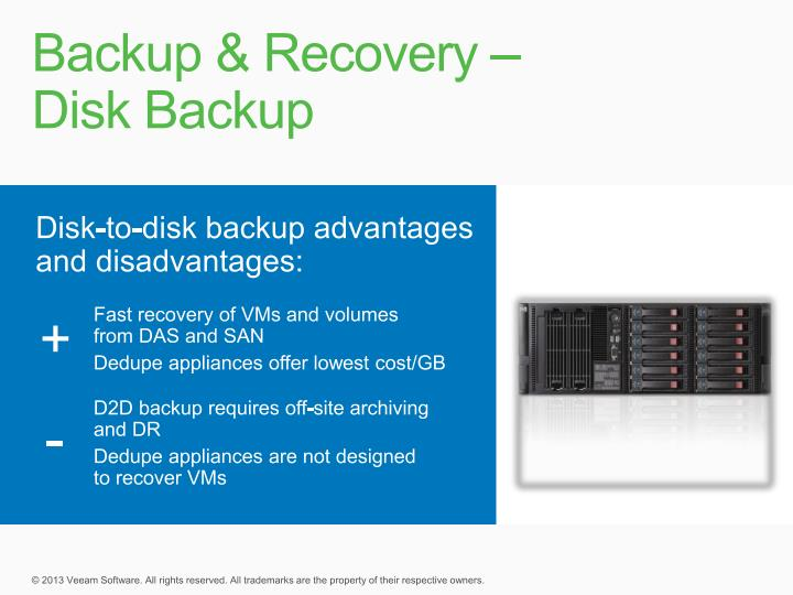 Backup & Recovery –