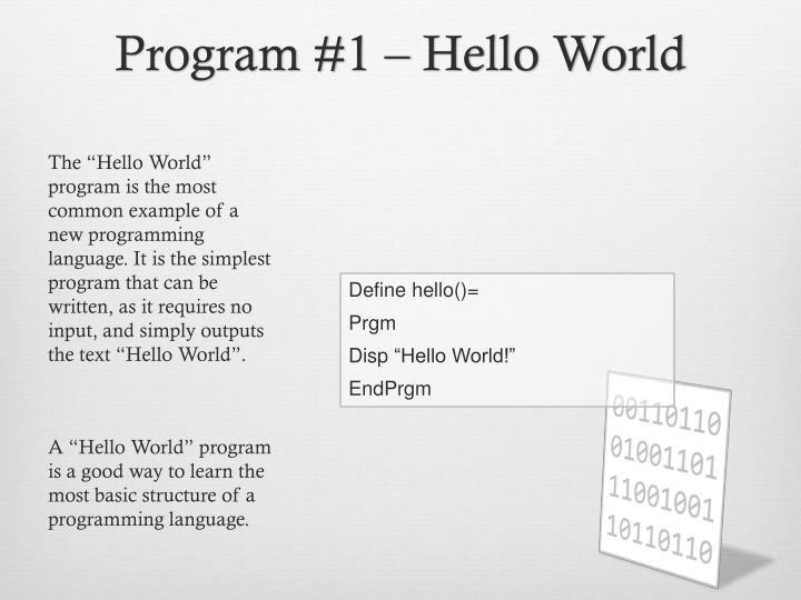 ppt   ti nspire programming powerpoint presentation   id