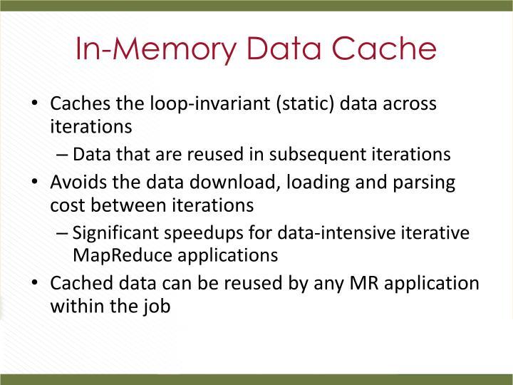 In-Memory Data Cache