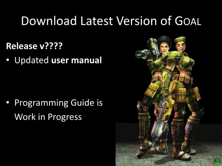Download Latest Version of