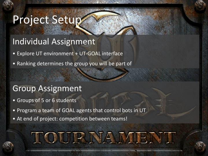 Project Setup