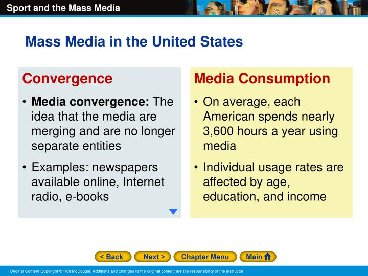 Mass Media in the United States
