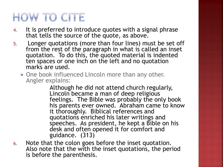 How to Cite