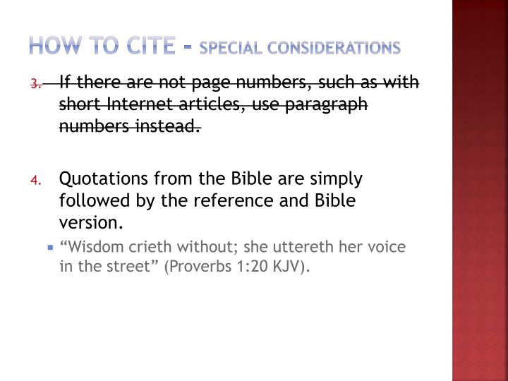 How to Cite -