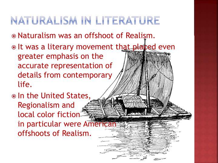 Naturalism in literature