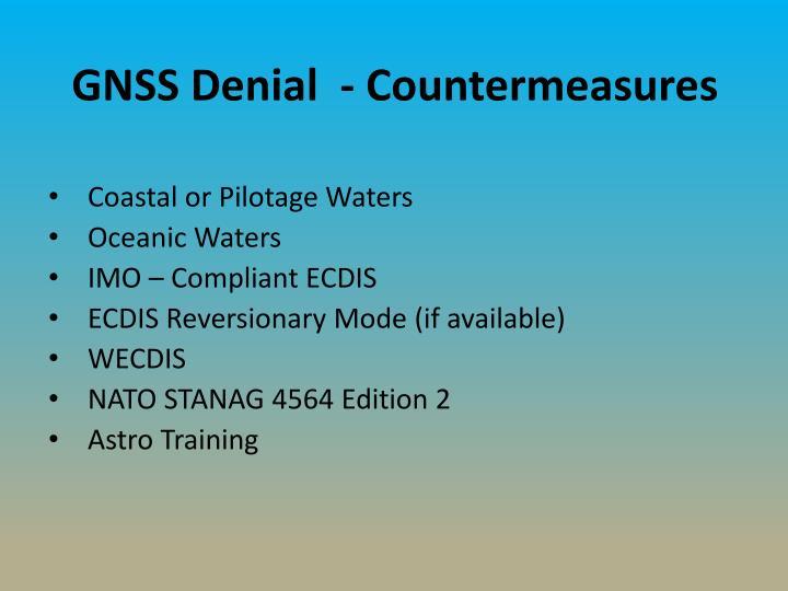 GNSS Denial