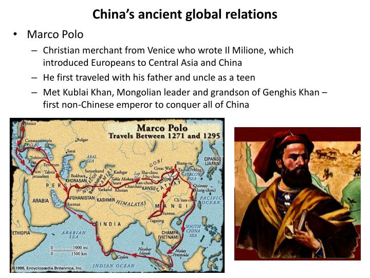 China's ancient global relations
