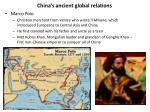 china s ancient global relations