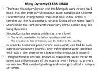ming dynasty 1368 1644