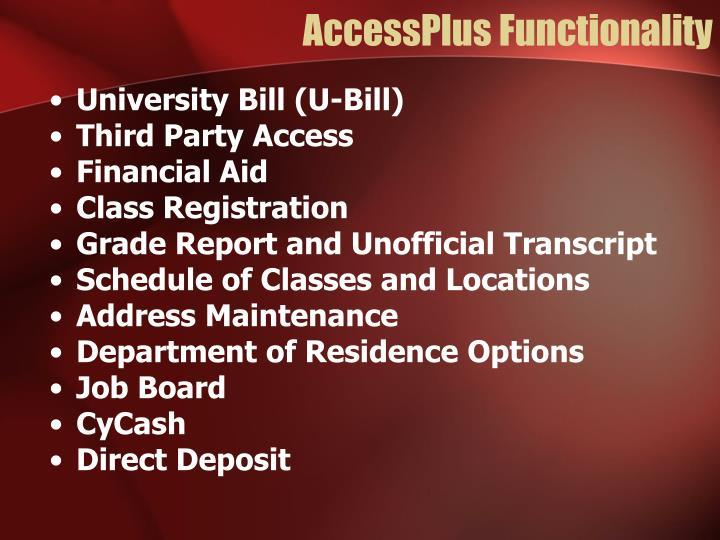 AccessPlus