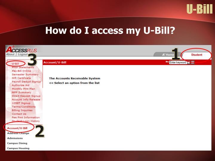 U-Bill