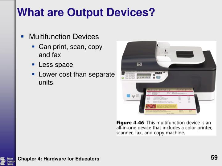 What are Output Devices?