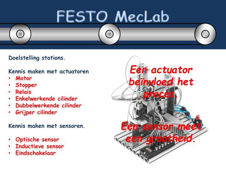 FESTO MecLab