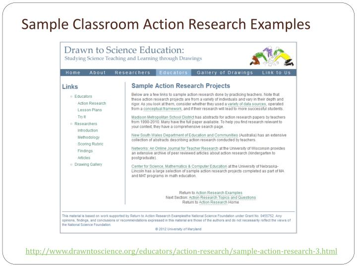 "Design Classroom Action Research : Ppt everything an intern needs to know about the ""impact"