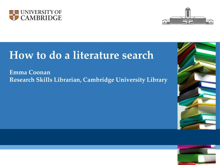 How To Do A Literature Review For A Dissertation