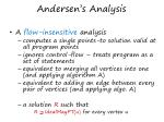 andersen s analysis