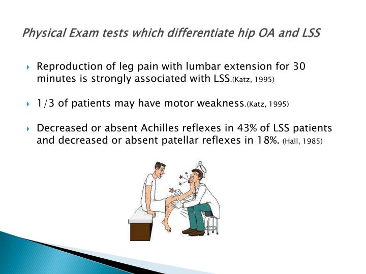 Physical Exam tests which