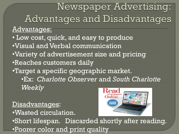 Newspaper Advertising: